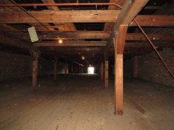 Inside the third level of the Palmetto Compress & Warehouse Co.